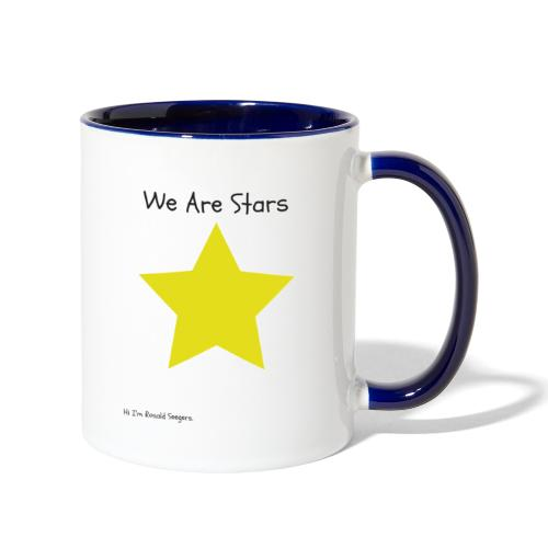 Hi I'm Ronald Seegers Collection-We Are Stars - Contrast Coffee Mug