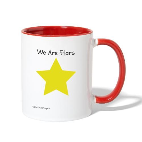 Hi I'm Ronald Seegers Collection-We Are Stars - Contrast Coffee Mug