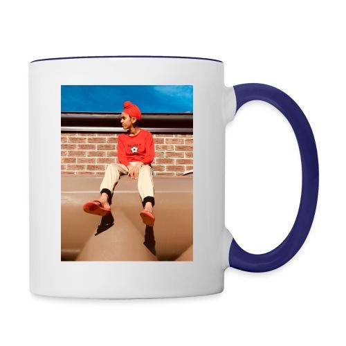 Flamin_Danger - Contrast Coffee Mug