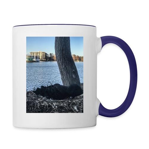 DUCK L - Contrast Coffee Mug