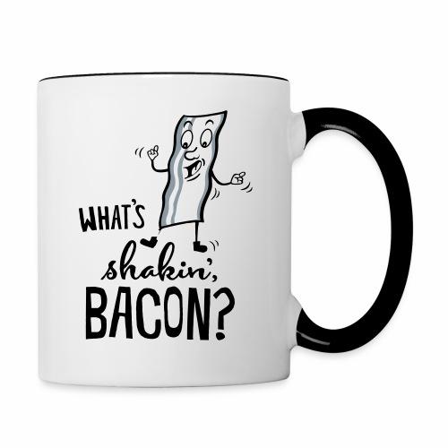 What's Shakin' Bacon - Contrast Coffee Mug