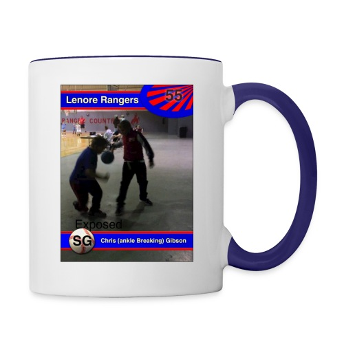 Basketball merch - Contrast Coffee Mug
