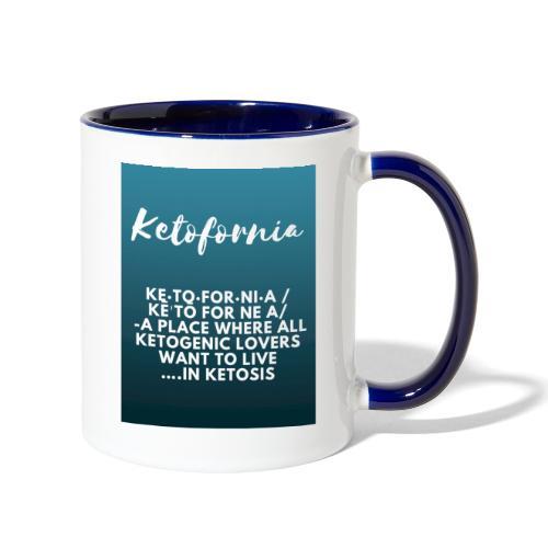 Ketofornia - Contrast Coffee Mug