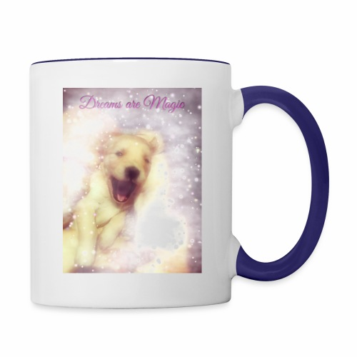 Dreams are Magic - Contrast Coffee Mug
