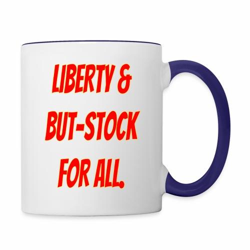 liberty 1 - Contrast Coffee Mug