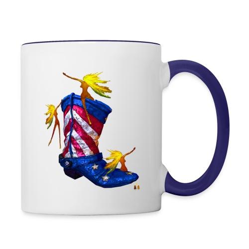 Boot Hoot - Contrast Coffee Mug