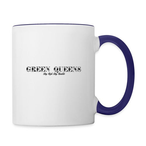 Limited edition - green queens - Contrast Coffee Mug