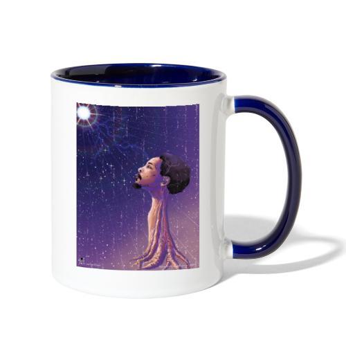 Enlightening myself - Contrast Coffee Mug