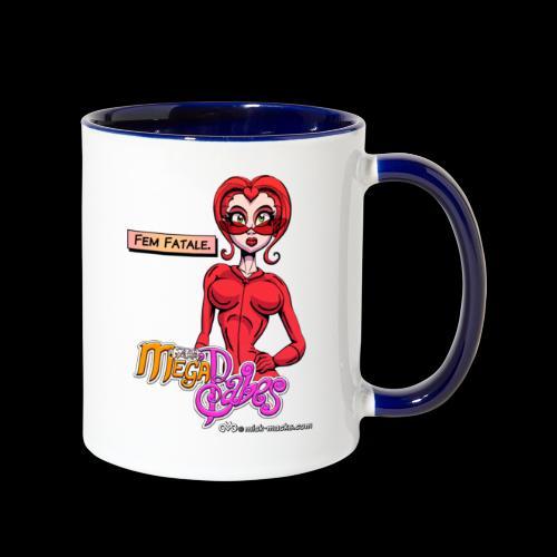 Fem Fatale - Contrast Coffee Mug