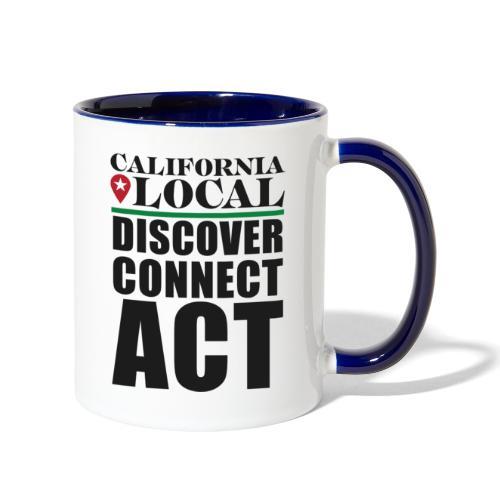 California Locals Make it Better - Contrast Coffee Mug