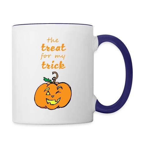 Trick or Treat Maternity - Contrast Coffee Mug