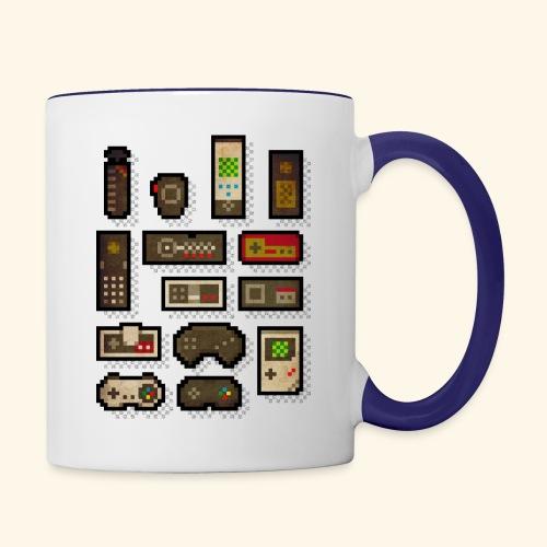 pixelcontrol - Contrast Coffee Mug