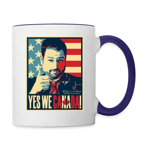 yeswecan - Contrast Coffee Mug