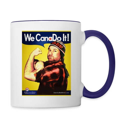 wecan posterpreview18x24 - Contrast Coffee Mug