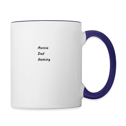 Basic AussieDadGaming - Contrast Coffee Mug