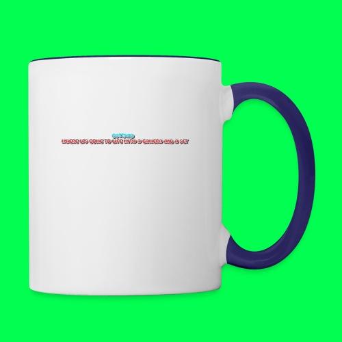 my original quote - Contrast Coffee Mug