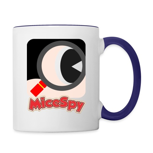 MiceSpy with your eye! - Contrast Coffee Mug