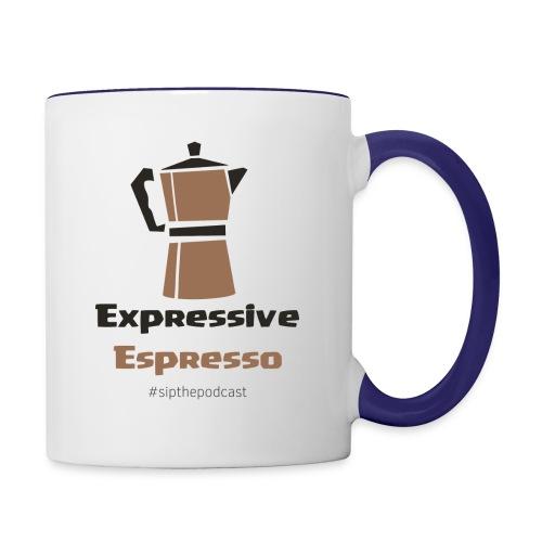 Expressive Espresso - Contrast Coffee Mug