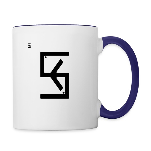Soft Kore Logo Black - Contrast Coffee Mug