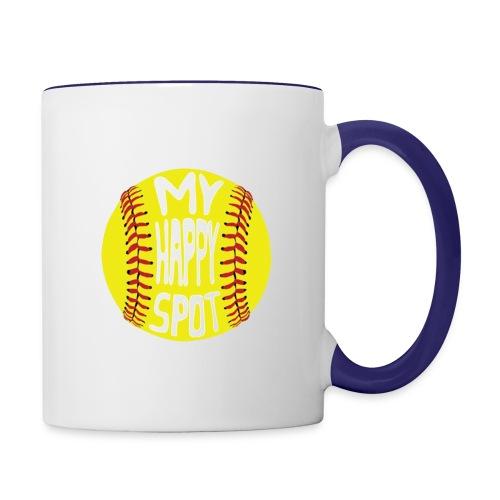 People s Republic of Burlington Softball - Contrast Coffee Mug