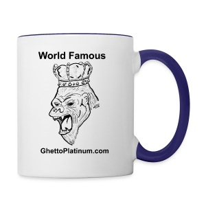 T-shirt-worldfamousForilla2tight - Contrast Coffee Mug