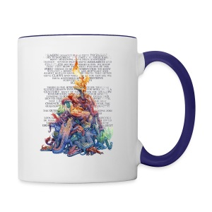 Answer to the Question Dragons - Contrast Coffee Mug