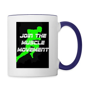 muscle movement - Contrast Coffee Mug