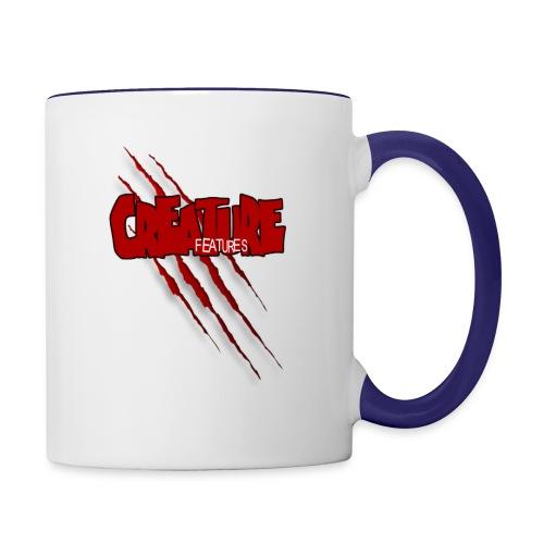 Creature Features Slash T - Contrast Coffee Mug