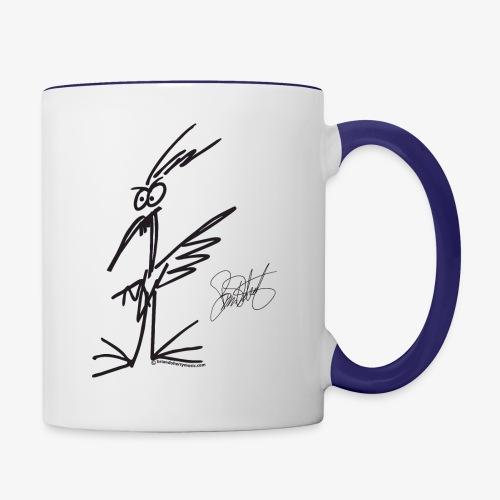 The Bird - Mug - Contrast Coffee Mug