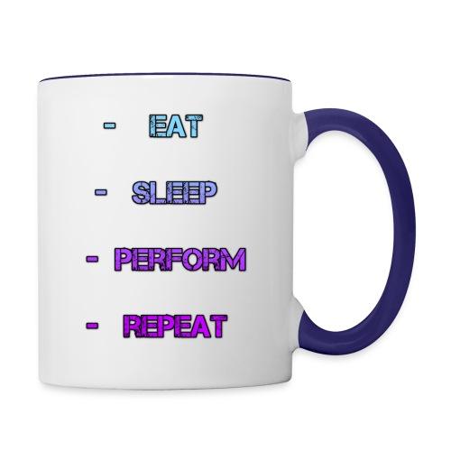 littlelaurzs productions T-shirt - Contrast Coffee Mug