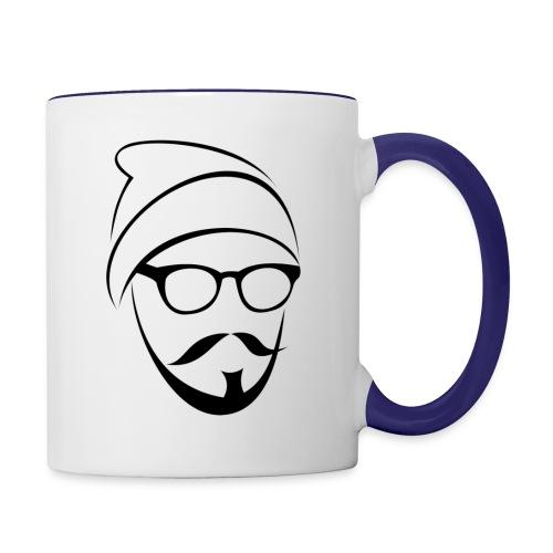 Whang Face - Contrast Coffee Mug