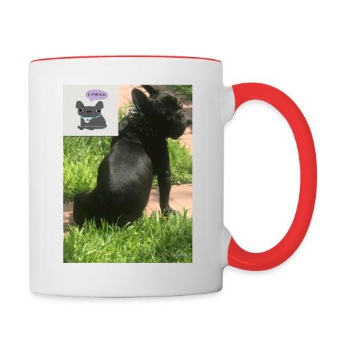 french bulldog - Contrast Coffee Mug