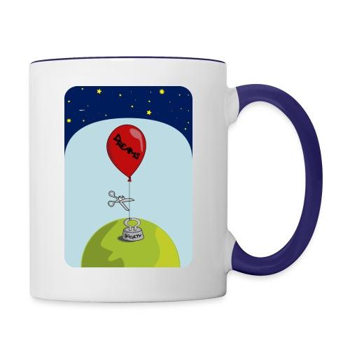dreams balloon and society 2018 - Contrast Coffee Mug