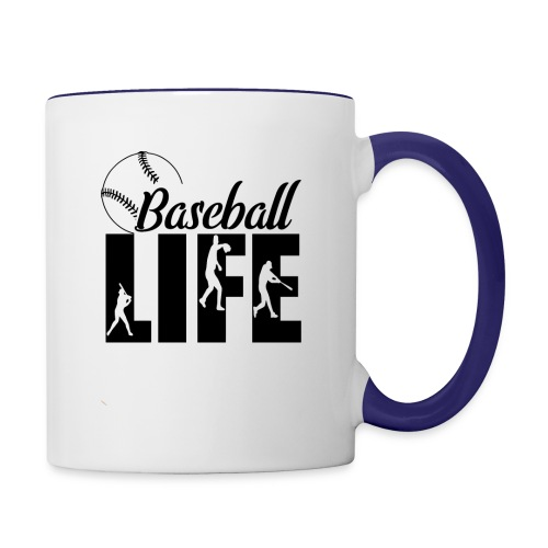 Baseball life - Contrast Coffee Mug