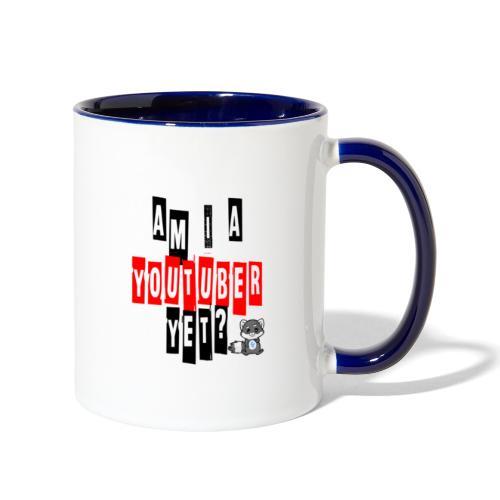 Am I A Youtuber Yet? - Contrast Coffee Mug