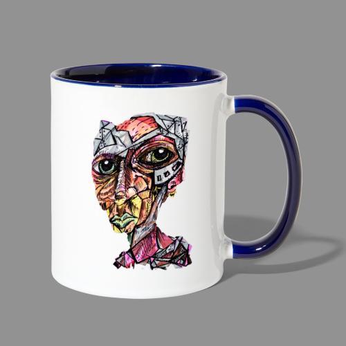 My Internal Gladiator - Contrast Coffee Mug