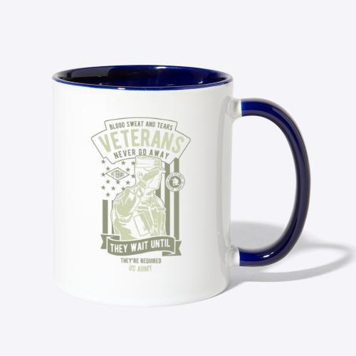 US Army Veterans - Contrast Coffee Mug