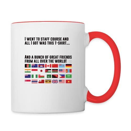 Great Friends (Light Clothing) - Contrast Coffee Mug