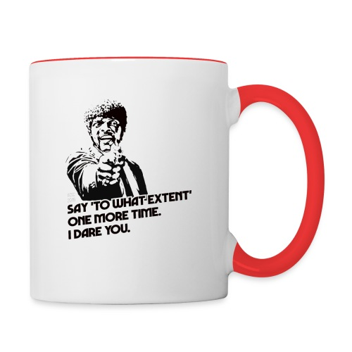 Extent - Contrast Coffee Mug