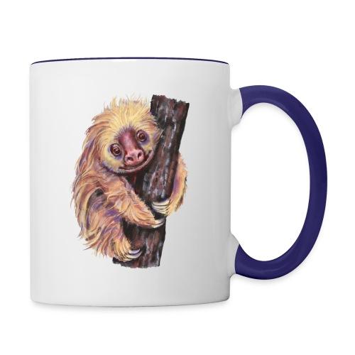 Sloth - Contrast Coffee Mug