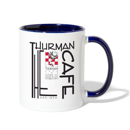 Thurman Cafe Traditional Logo - Contrast Coffee Mug