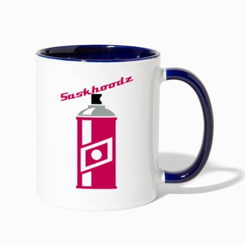 saskhoodz paint - Contrast Coffee Mug