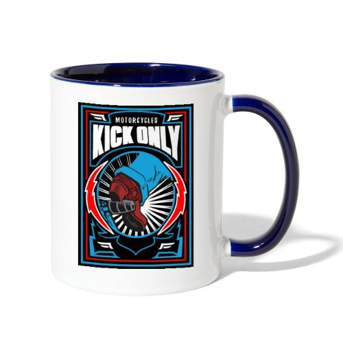 Motorcycles Kick Only - Contrast Coffee Mug