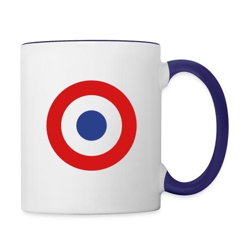 France Symbol - Axis & Allies - Contrast Coffee Mug