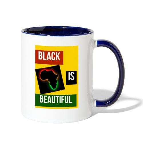 Black Is Beautiful - Contrast Coffee Mug