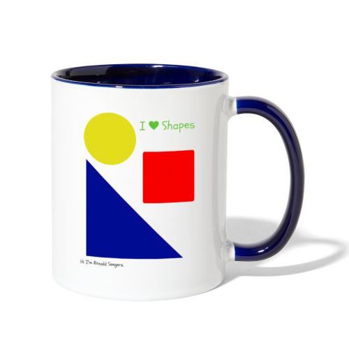 Hi I'm Ronald Seegers Collection-I Love Shapes - Contrast Coffee Mug