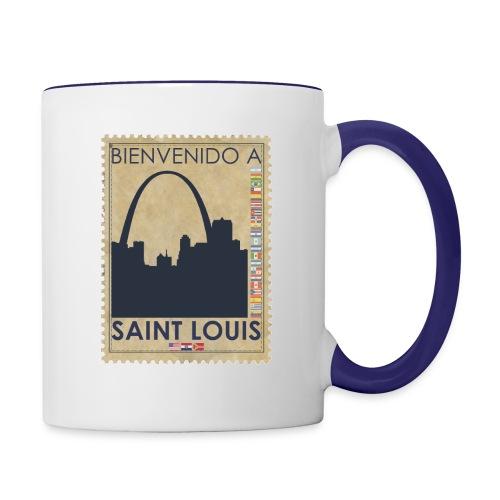 Bienvenido A Saint Louis - Contrast Coffee Mug