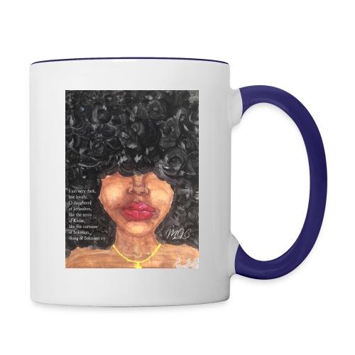Song of Solomon 1:5 - Contrast Coffee Mug