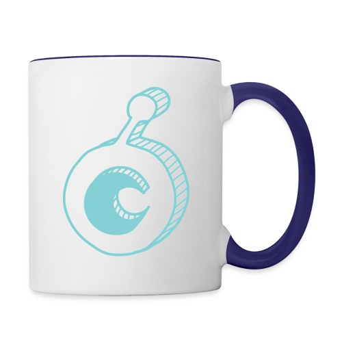 ost logo drawing - Contrast Coffee Mug