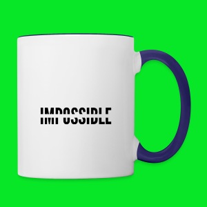 Impossible - Contrast Coffee Mug